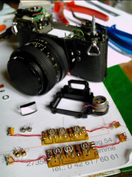 Rolleiflex SL35 Light Meter Repair